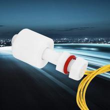 цена на 5Pcs P4510 PP Plastic Float Switch NC Low Pressure Water Tank Pool Liquid Level Sensor Controller Vertical Float Switches