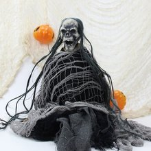 Halloween Creepy Cloth Loose Weaved Hollween Party Spooky Haunted Decor Props Decorations 76*200cmCM