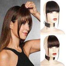 Azqueen – frange à Clip pour femmes, Extension de cheveux, accessoires de coiffure