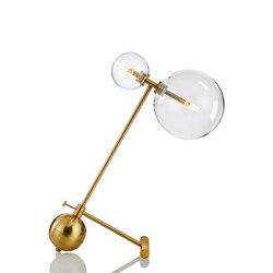 Lámpara de noche led de color de cristal led, lámpara de comedor de noche de brujas comodino deco para lámpara de mesa de dormitorio
