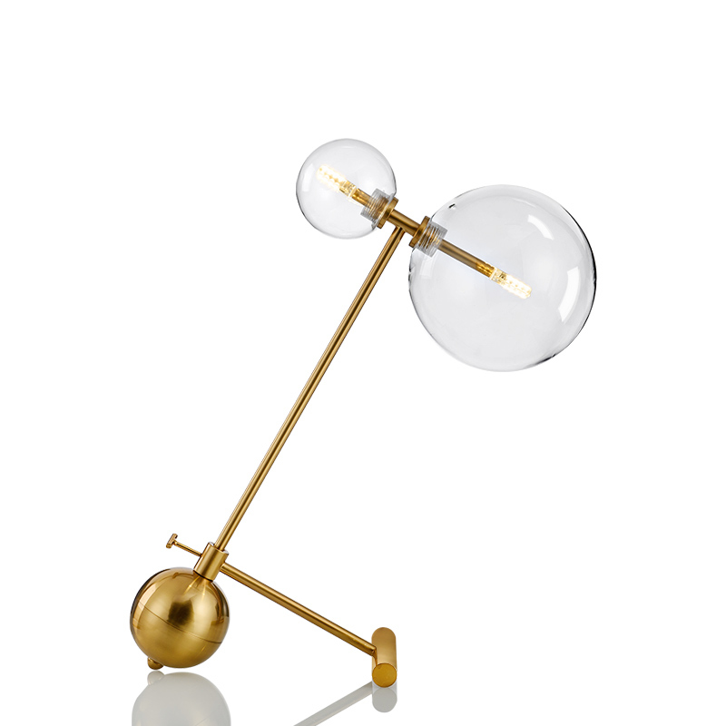 Lâmpada de cabeceira led cor vidro lampada comodino deco halloween sala jantar para o quarto lâmpada de mesa