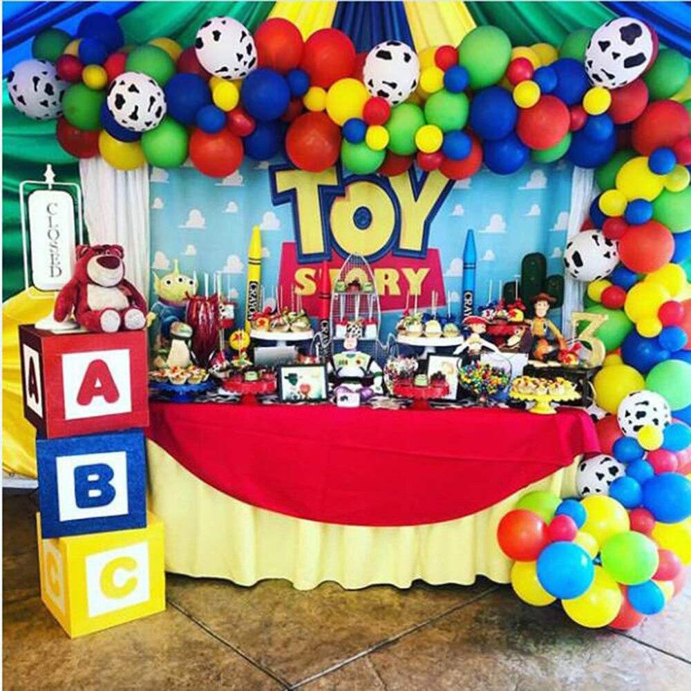 42 шт История для вечеринки, дня рождения шары арки гирлянда для детей День рождения 1st 3rd 6th Baby Shower латексные воздушные шары игрушки украшения