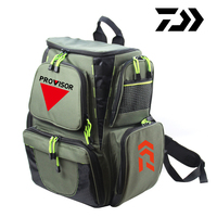 Daiwa Fishing Bag Large Capacity 25L Multifunctional Backpack 45*41*26cm Outdoor Sport Hiking Waterproof Fishing Tackle Bag F95