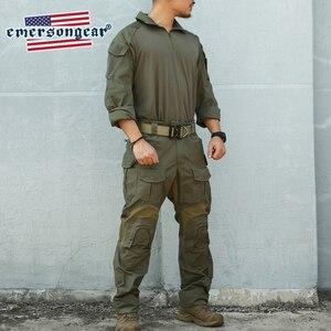 Image 5 - Emersongear Blue Label RangerสีเขียวG3 Combatยุทธวิธีเสื้อและกางเกงอัพเกรดรุ่นบุรุษBDU Slim FitทหารDuty Uniform