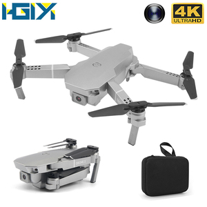 HGIYI M72 Foldable Drone with Camera 4K HD Selfie WiFi FPV MIni Optical Flow RC Quadcopter Helicopter Dron VS E68 SG107 E58