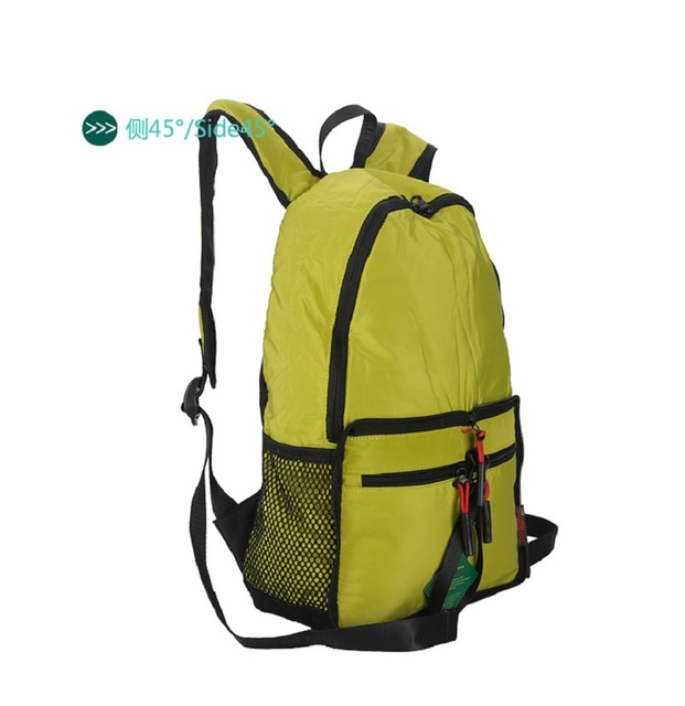 Yinjue backpack foldable travel outdoor weekend Travel Organizer super light waterproof multi-functional multi-color Backpack