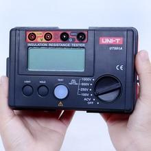 Meter Resistance-Tester Earth UT501A Insulation Megger UNI-T