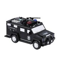 Creative Cash Truck Armored Car Piggy Bank Toy Rolling Automatically Money Box Smart Music Light Toy Car Children Puzzle Toy