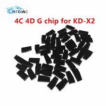 10 יח\חבילה KEYDIY KD X2 4D/4C שבב G שבב שיבוט שבב משדר מיוחד עבור KEYDIY KD X2 KD X2 מפתח מתכנת Cloner