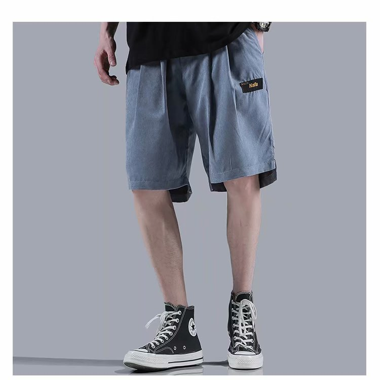 Mens Summer Casual Shorts 2020 Fashions Japan Style Shorts Men Cotton Linen Solid Knee Lengeh Shorts Plus Size