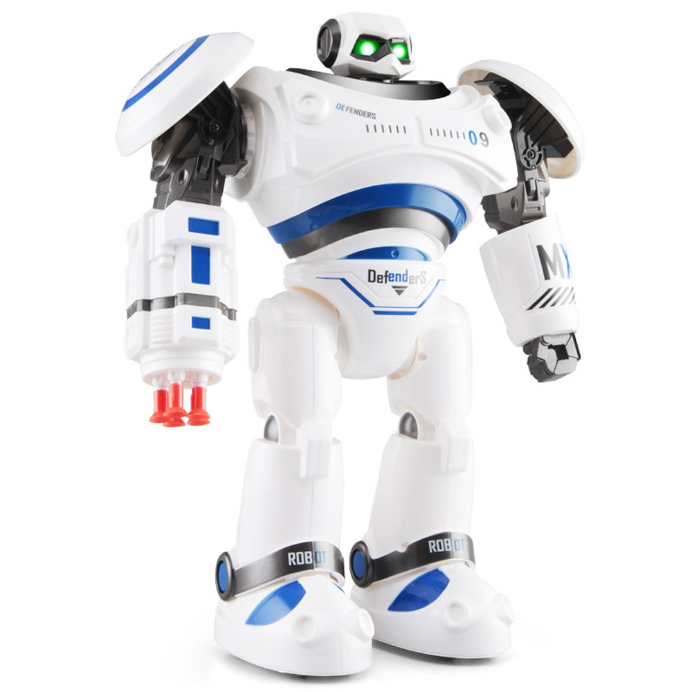 SHAREFUNBAY AD Police Files Programmable Combat Robot and Intelligent RC Defender for Kids 4