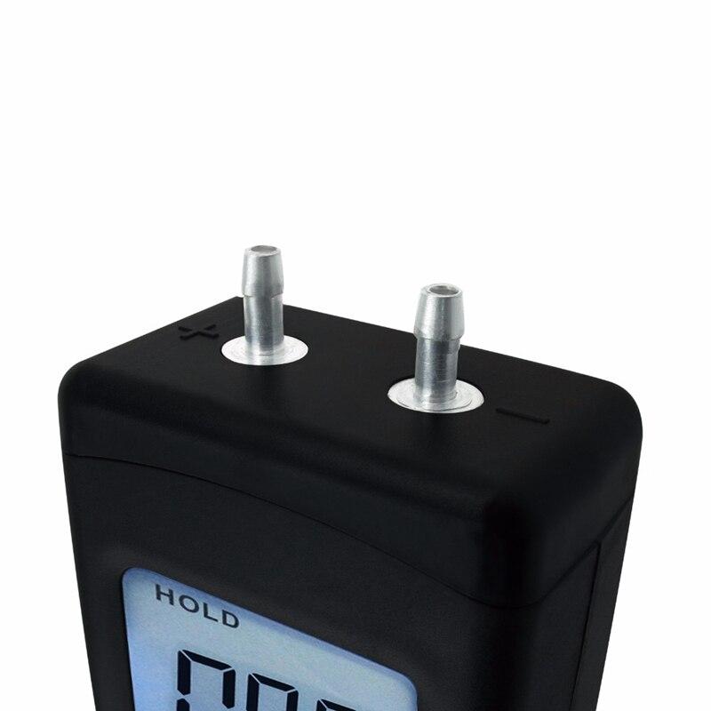 Цифровой портативный воздушный вакуумный Барометр с манометром с подсветкой 11 единиц +/-13,78 кПа +/-2PSI (поддержка оптом)