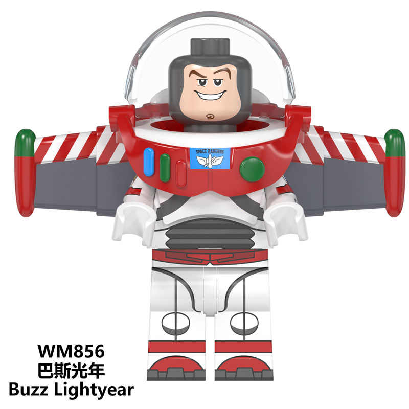 stay puft legoed Christmas Building Blocks Gingerbread Man Inhumans Royal Family Buzz Lightyear Figures For Children Toys WM859