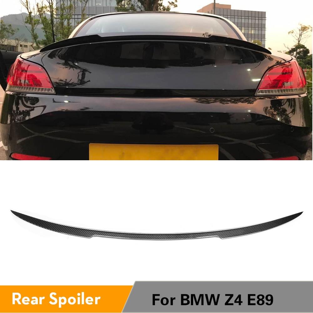 Для BMW Z4 E89 8i 20i 23i 28i 30i 35i 2009 2015 углеродное волокно задний багажник спойлер загрузки утка губы крыла крышка