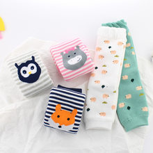 ARM Foot Sock Autumn And Winter Thickening Baby Pajama Protection Arm ying er tao Guetre-m Stockings Children Knee Cover(China)