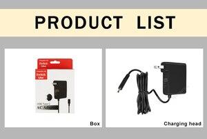 Image 5 - محطة إرساء لوحدات تحكم ألعاب Nintendo Switch NS ، قابس الاتحاد الأوروبي والولايات المتحدة ، محول تيار متردد ، شاحن 5 فولت 2.4 أمبير ، USB من النوع C ، محطة شحن