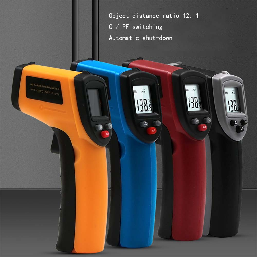 Digital GM320 Infrared Thermometer Non-Contact Temperature Meter Pyrometer IR Laser Point Gun -50~380 Celsius