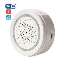 NEO kablosuz WiFi USB Siren alarmı sensörü ses ve ışık Siren sensörü ev akıllı yaşam