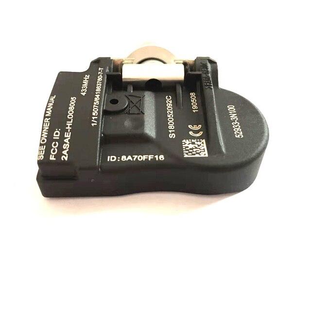 4 Uds 52933-3N100 529333N100 529332M650 TPMS válvula sistema de supervisión de presión Sensor de presión de neumáticos para Kia For hyun-dai