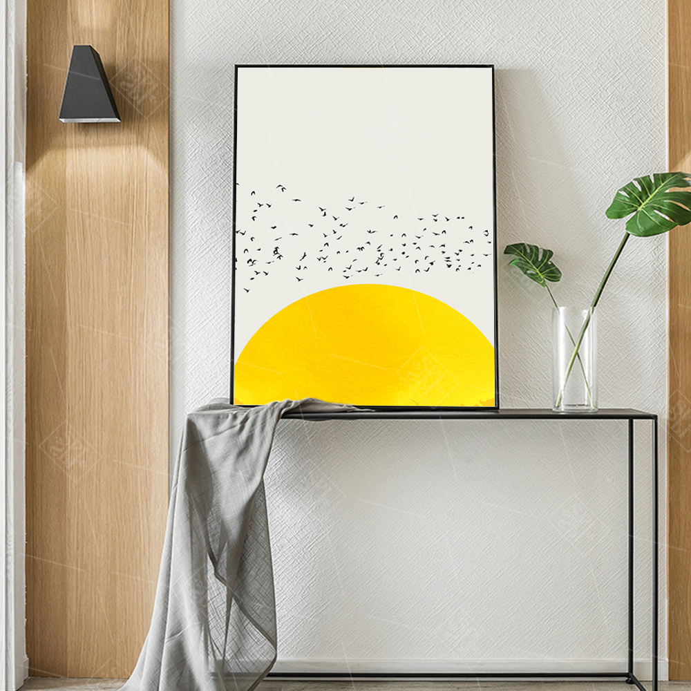 Nordic-Simple-Canvas-Art-Prints-A-Thousand-Of-Birds-Abstract-Canvas-Art-Wall-Paintings-Animals-Posters (4)