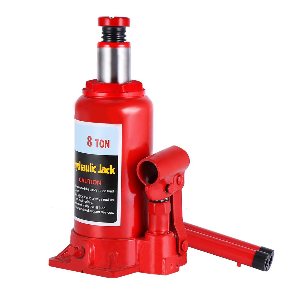 Professional Thickened Steel 8T Hydraulic Bottle Jack Lifter Portable Automotive Lifting Emergency Tools For Car SUV Truck