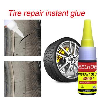 Opona samochodowa naprawa Glue480S natychmiastowy klej potężna opona szybka naprawa klej uszczelka uszczelniacz do opon szybka naprawa samochodów ciężarówka naprawa zimny klej tanie i dobre opinie CN (pochodzenie) Opony połysk car tire repair