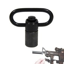 Tactical Steel Quick Detach Sling Swivels Sling Loop Adapter WithPush Button Mount  For Rifle Shotgun Airsoft Hunting RL37-0106 стоимость