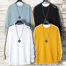 Hoodie Men Plus Size Stylish Clothes Plus Size Sweatshirts O-neck Hoodies Mens Youth Streetwear Sweatshirt Daily Tops M-4XL 2020 ghost face plus size skew neck halloween sweatshirt