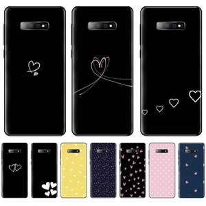 Phone-Case Plus-Lite Black Soft-Silicone Samsung Galaxy S10e for S5 S6 S7 S8 S9 Candy-Color