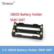 2 X 18650 Battery Holder SMD SMT High Quality Battery Box With Bronze Pins TBH-18650-2C-SMT 18650 use  Turmera  NEW        Oct15 original electronic cigarette 240w vaptio n1 pro tc box mod vaping mod support vw 18650 battery fits 510 thread tank atomizer