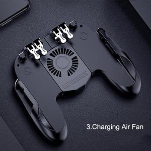 Image 5 - GamePads Controller Trigger Cooler Cooling Fan Fire PUBG Mobile Game Controller Joystick Metal L1 R1 Trigger Game Accessory