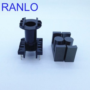 Image 4 - EC35 ER35 vertical 6+6pin transformer frame bobbin skeleton soft ferrite core N87 PC40