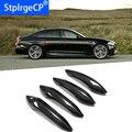 Для BMW M5 F10 2012 2013 2014 автомобильные аксессуары углеродное волокно Автомобильная дверная ручка внешняя отделка крышки