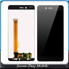 5.2'' For ZTE Nubia Z11 Mini S NX549J LCD Display +Touch Screen Digitizer Assembly Replacement цена 2017