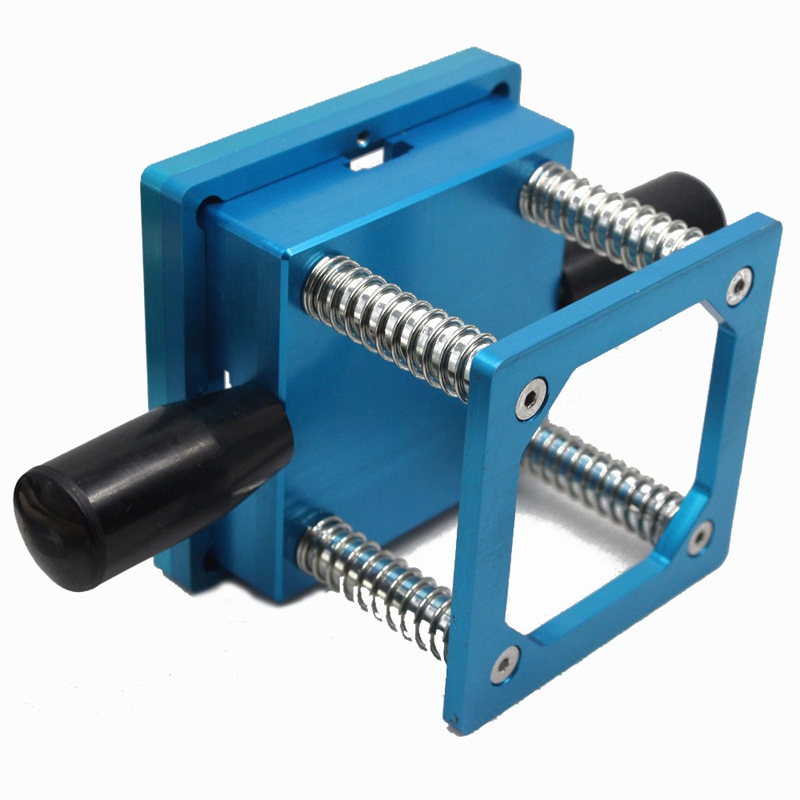 Tools : Bga Reballing Kit 90Mm Aluminium Alloy Mesh Bga Reballing Station With Hand Shank Bga Universal Stencil   10Pc Bga Solder Ball