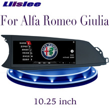 LiisLee Auto Multimedia GPS HiFi Audio Radio Stereo CarPlay Für Alfa Romeo Giulia 2016 2017 2018 2019 Player Navigation NAVI