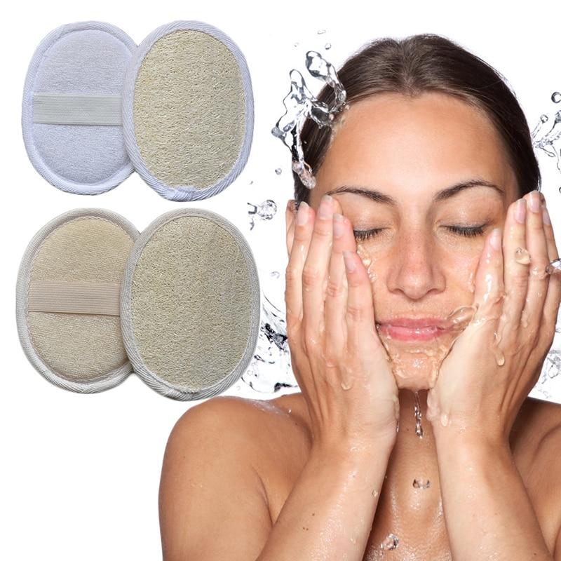 Organic Loofahs Loofah Spa Exfoliating Scrubber Natural Luffa Body Wash Sponge Remove Dead Skin Made Soap Exfoliating Gloves