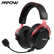 Беспроводная игровая гарнитура Mpow Air 2,4G, игровые наушники с объемным звуком 7,1 для ПК, PS4 с двойным приводом, микрофоном с шумоподавлением