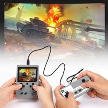 2020ใหม่เครื่องเล่นเกมพกพาคอนโซลเกมRetro Built In 500เกมสนับสนุนผู้เล่น2คน8 Bit 3.0นิ้วสำหรับของขวัญเด็ก