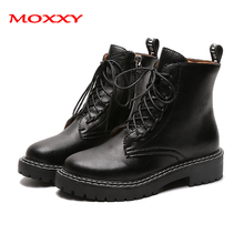 2019 New Black Combat Martin Boots Women Leather Platform Boots Punk Ankle Boots Women Shoes Zip Lace Up Casual Dr Botas Mujer цены онлайн