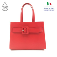 Juice brand, genuine leather bag Made in Italy, casual shoulder and hand bag 078.412