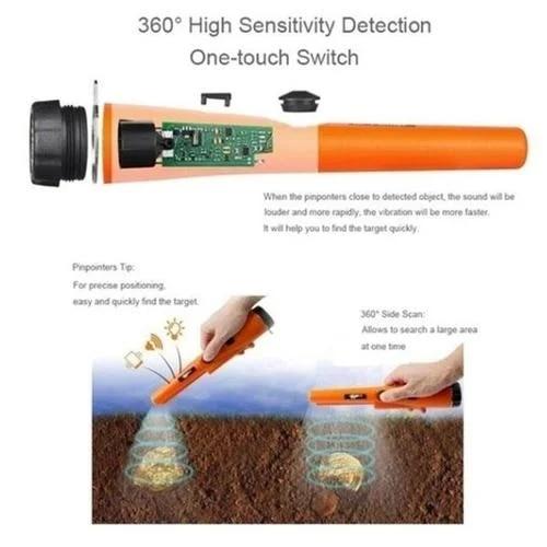 Fémdetektor föld alatti aranyszkenner Csipeszes mutató gp kincs - Mérőműszerek - Fénykép 2
