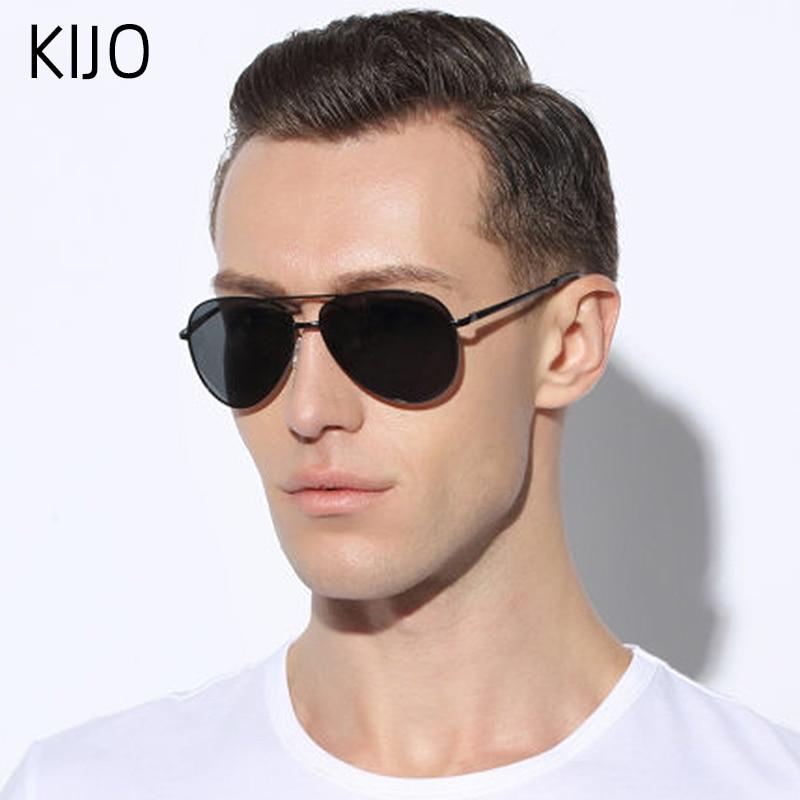 Polarized Sunglasses Men Women Pilot Driving Sun Glasses Vintage Anti-UV400 Goggles Driver Eyewear