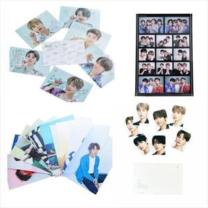 KPOP Bangtan Boys Seasons Greeting LOMO Crad Photobook 3D Card JUNG KOOK JIMIN JIN SUGA J-HOPE Postcard Sticker jh105(China)