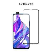 Закаленное стекло для huawei honor 9x полное покрытие 25d защита