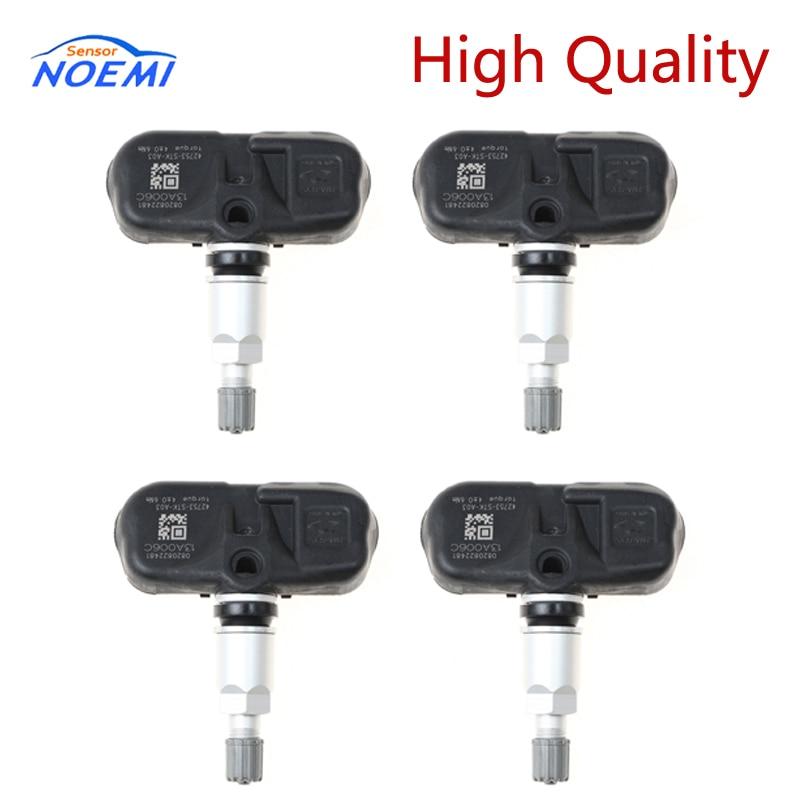 YAOPEI 4 Pcs/lot 42753-STK-A03 42753STKA03 TPMS Tire Pressure Sensor For Acura MDX Honda Pilot 07-15 42753-STK-A02 PMV-107G