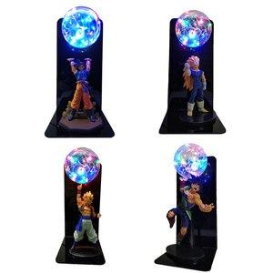 Image 3 - Dragon Ball и Super Goku Вегета Gogeta Figuras светодиодный светильник Dragon Ball лампы Ультра инстинкт Гоку Спальня декоративный ночной Светильник подарки