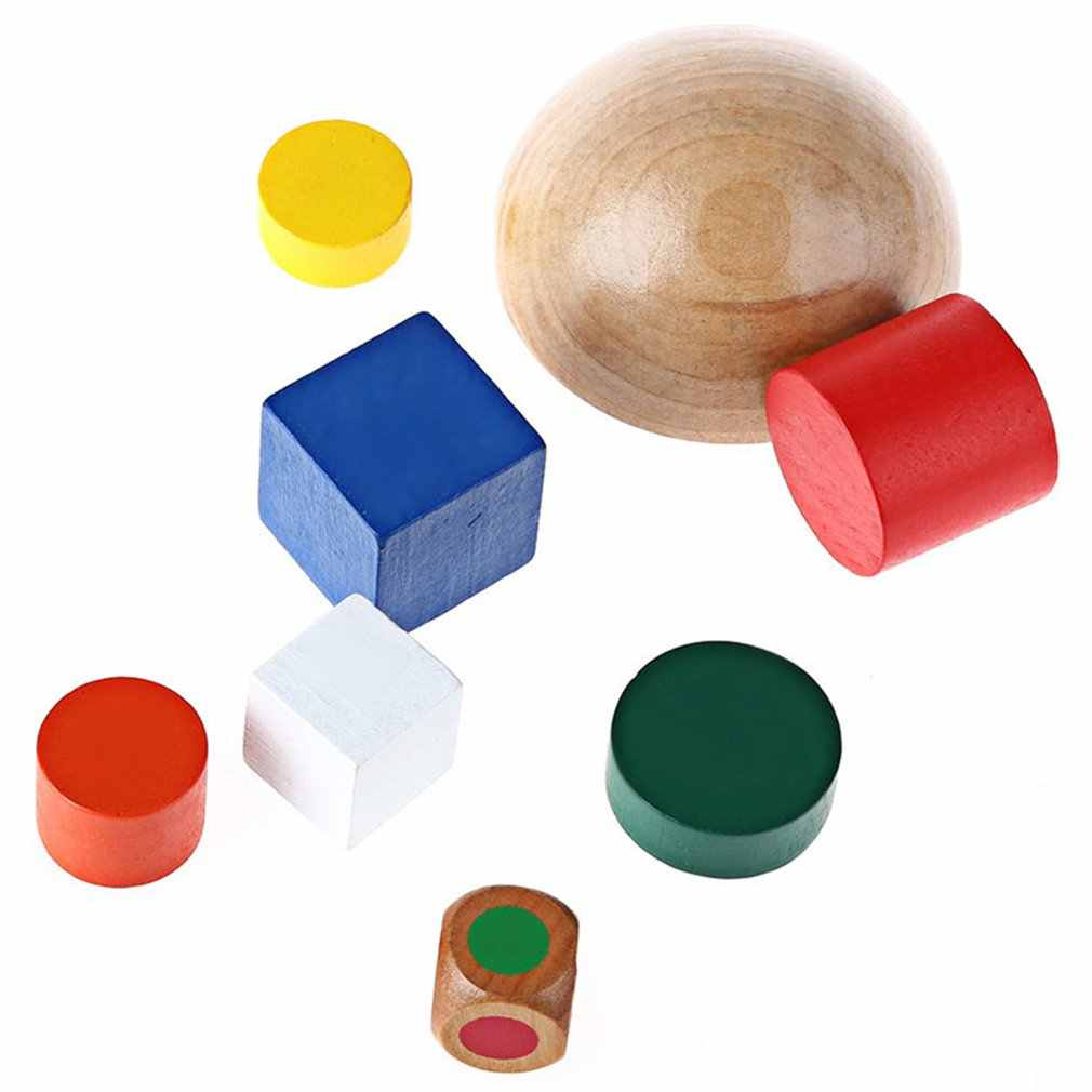 子供木製半球バランススタッキングゲームおもちゃ教育ベビービルディングブロック開発インテリジェントおもちゃ子供のギフト