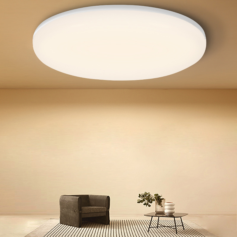Ultra Thin Led Ceiling Lights 220V Ceiling Lamp Lighting 15W 20W 30W 50W Surface Mount Panel Lights For Living Room Bedroom
