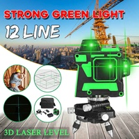 ZEAST Laser Level 12 Lines 3D Self Leveling 360 Horizontal And Vertical Cross Super Powerful Green Laser Beam Line
